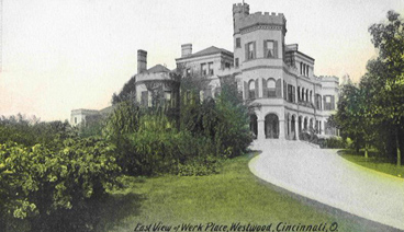 Werk Castle East View - Postcard